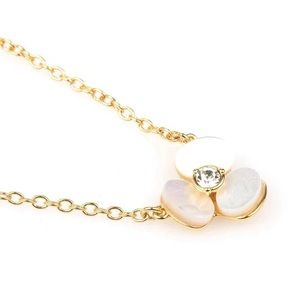 kate spade Jewelry - Brand New Kate Spade Floral Necklace